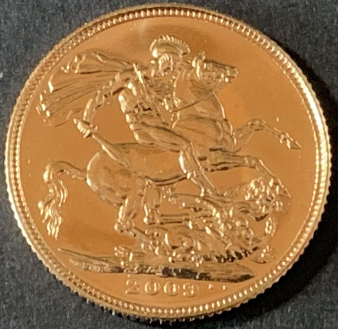2009 Gold Sovereign